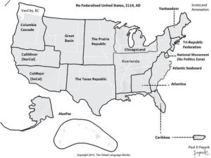 Re-fedrerated US in 2076 right before Annexing Scot's Land